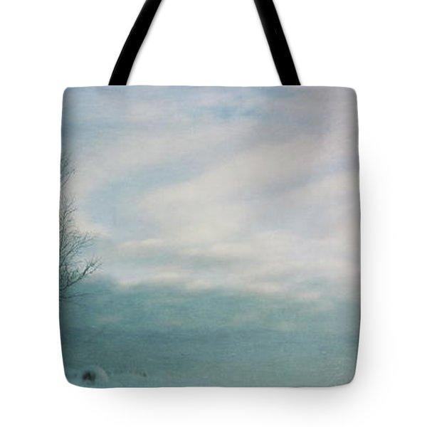 Brave The Black Frost Tote Bag by Priska Wettstein