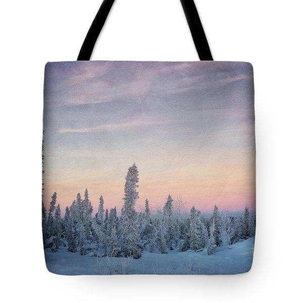 break of dawn Tote Bag by Priska Wettstein