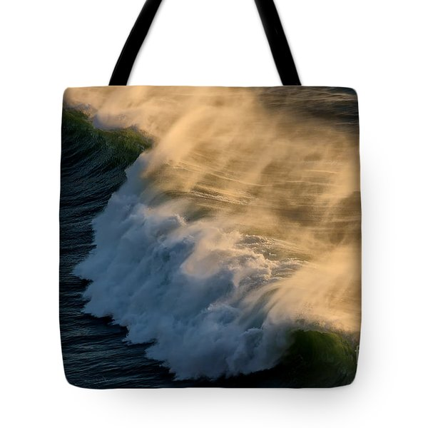 Breaker Tote Bag by Jon Burch Photography