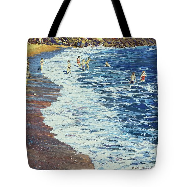 Breakers Tote Bag by Martin Decent