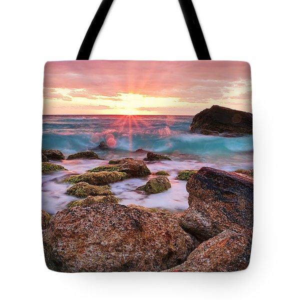 Breaking Dawn Tote Bag by Marcia Colelli