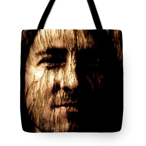 Breaking Point Tote Bag by Christopher Gaston