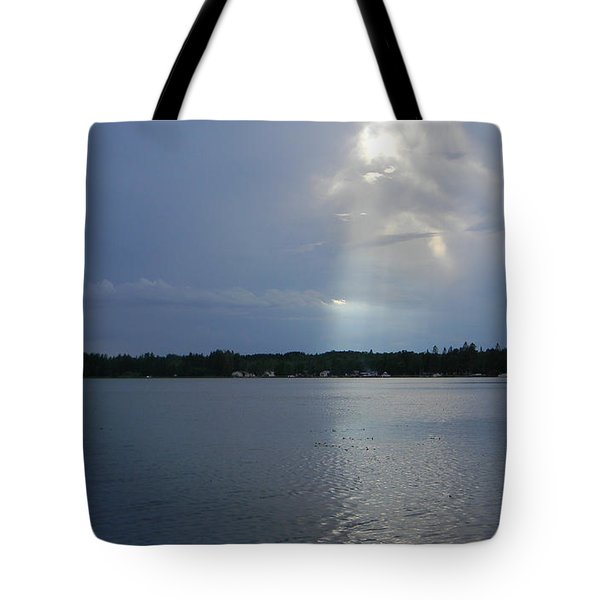 Breaking Through Tote Bag by Mark Minier