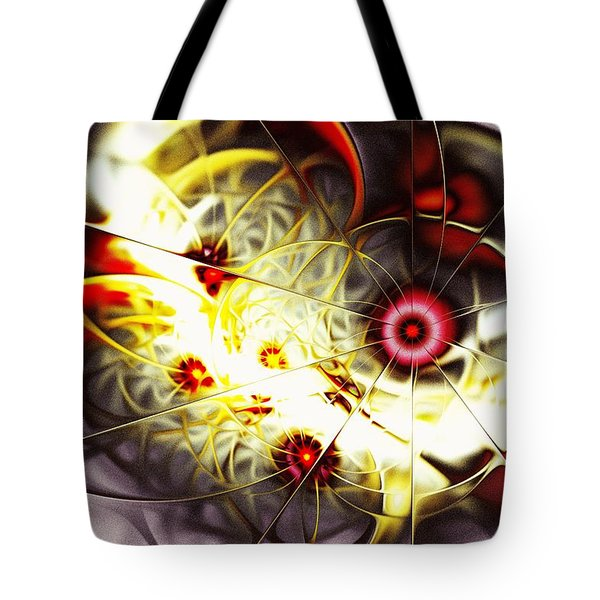 Breakthrough Tote Bag by Anastasiya Malakhova