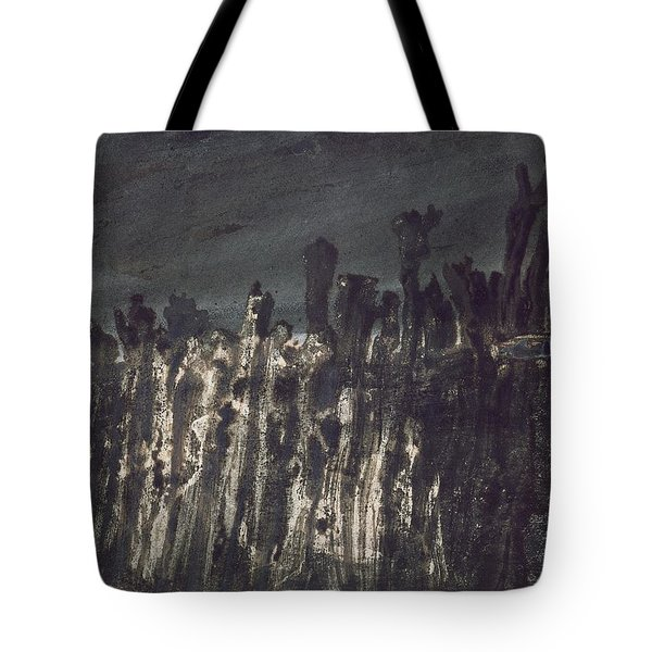 Breakwater In Jersey Tote Bag by Victor Hugo