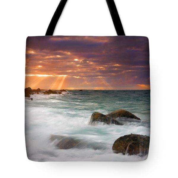 Breathtaking Tote Bag by Mike  Dawson