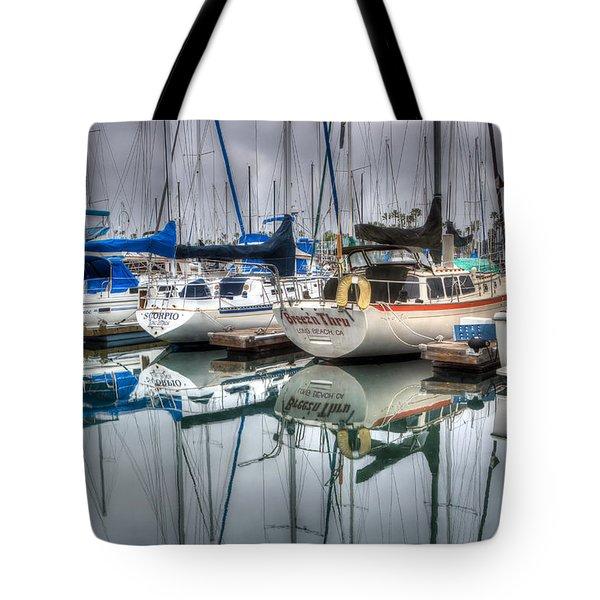 Breez'n Thru Tote Bag by Heidi Smith