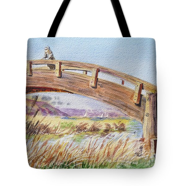 Breezy Day At The Marina Tote Bag by Irina Sztukowski