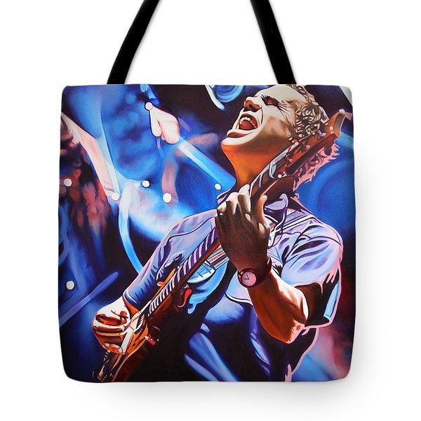 Brendan Bayliss Tote Bag by Joshua Morton