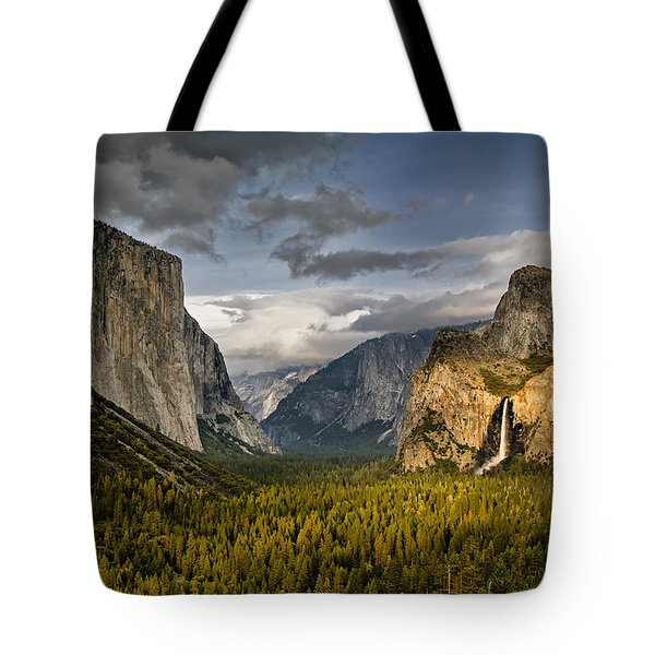 Bridal Vail Fall In The Spotlight Tote Bag by Eduard Moldoveanu