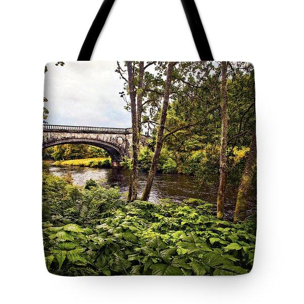 Bridge At Iveraray Castle Tote Bag by Marcia Colelli