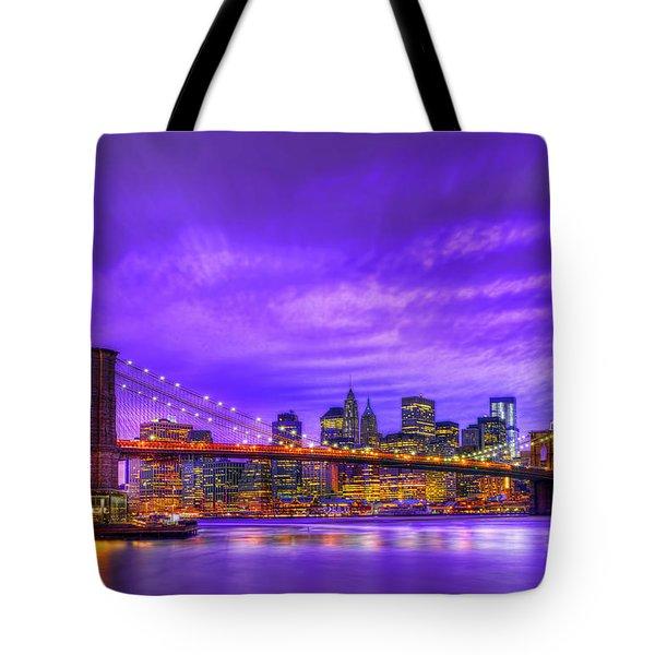 Bridge Of  Dream Tote Bag by Midori Chan