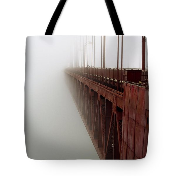 Bridge to Obscurity Tote Bag by Bill Gallagher