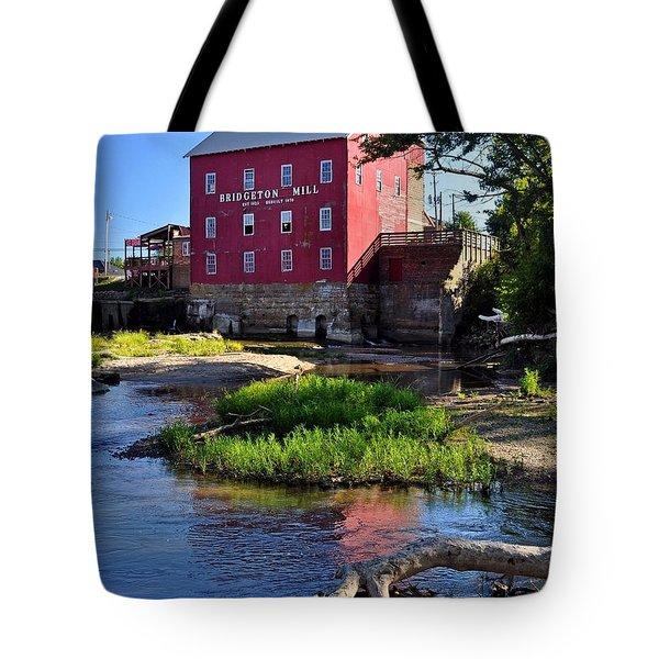 Bridgeton Mill 2 Tote Bag by Marty Koch