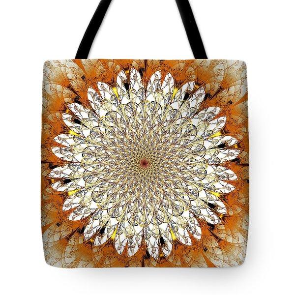 Bright Flower Tote Bag by Anastasiya Malakhova
