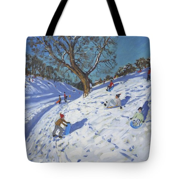 Bright Morning   Chatsworth Tote Bag by Andrew Macara