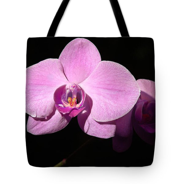 Bright Orchid Tote Bag by Penny Lisowski
