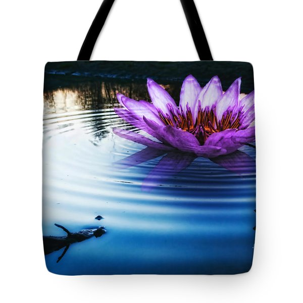 Brighter Than Stars Tote Bag by Mo T