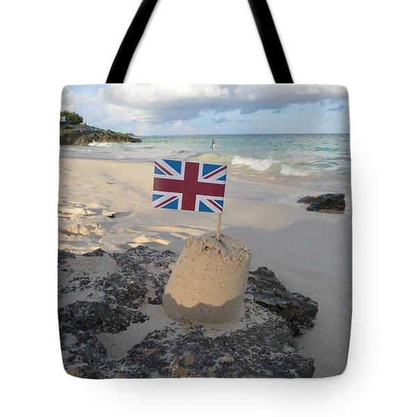 British Sandcastle Tote Bag by Richard Reeve