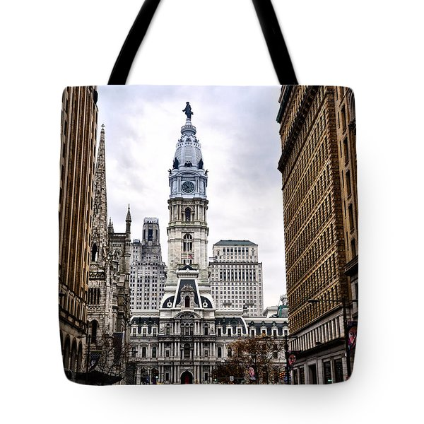 Broad Street Philadelphia Tote Bag by Bill Cannon