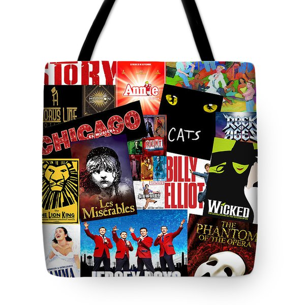 Broadway 1 Tote Bag by Andrew Fare