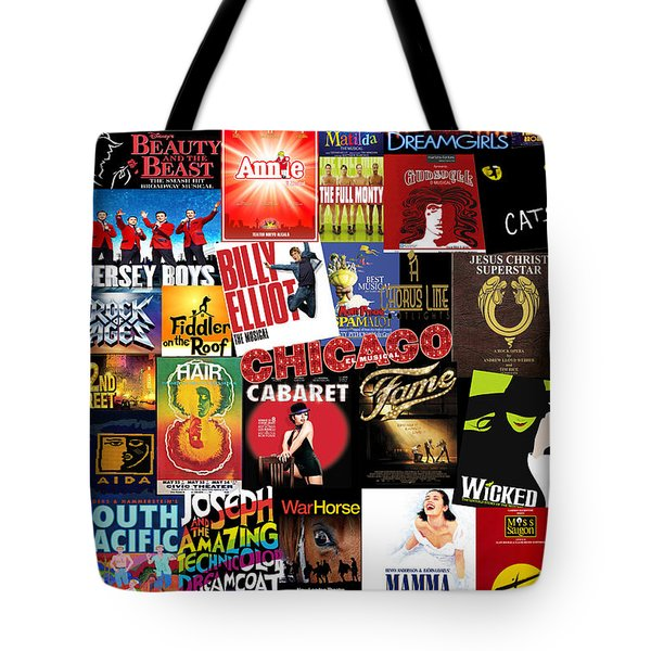 Broadway 4 Tote Bag by Andrew Fare