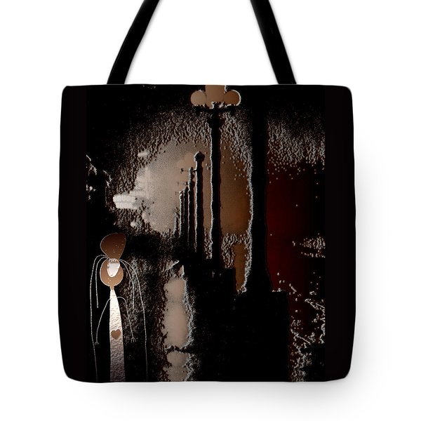Broadway Meets the West Village at Night Tote Bag by Natasha Marco