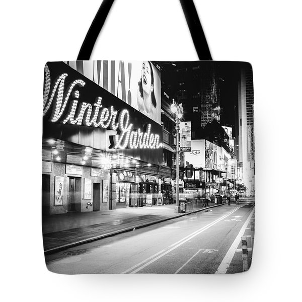 Broadway Theater - Night - New York City Tote Bag by Vivienne Gucwa
