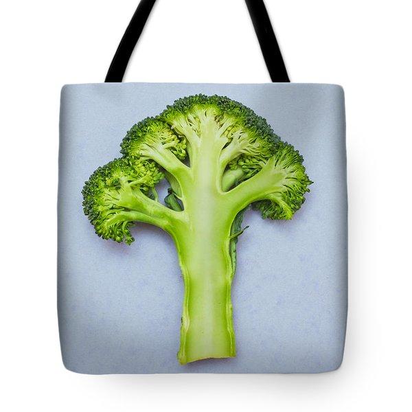 Broccoli Tote Bag by Tom Gowanlock