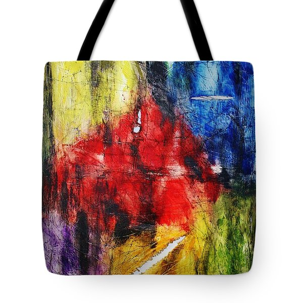 Broken 4 Tote Bag by Michael Cross