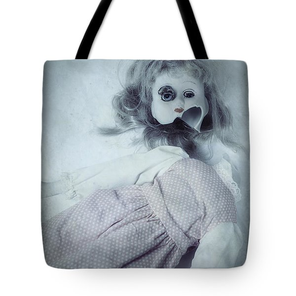 Broken Doll Tote Bag by Joana Kruse