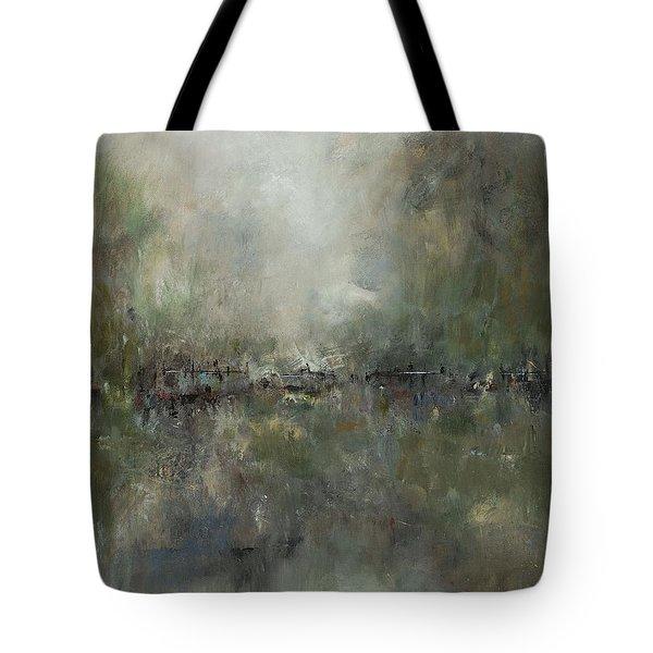 Broken Fences Tote Bag by Frances Marino
