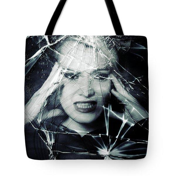 Broken Window Tote Bag by Joana Kruse
