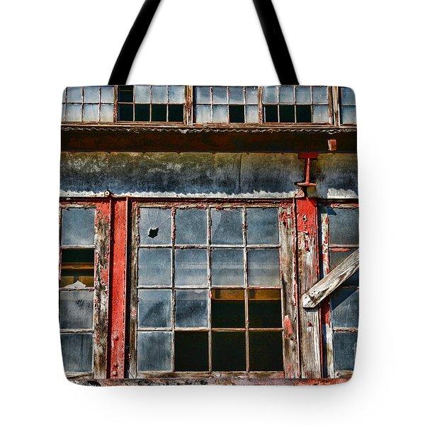 Broken Windows Tote Bag by Paul Ward