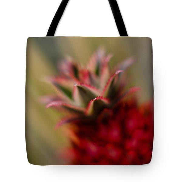 Bromeliad Crown Tote Bag by Mike Reid