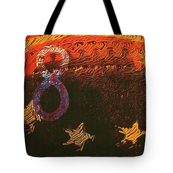 Broncos Football Tote Bag by M and L Creations