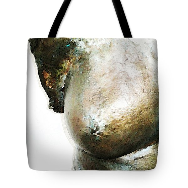 Bronze Bust 1 Tote Bag by Sharon Cummings