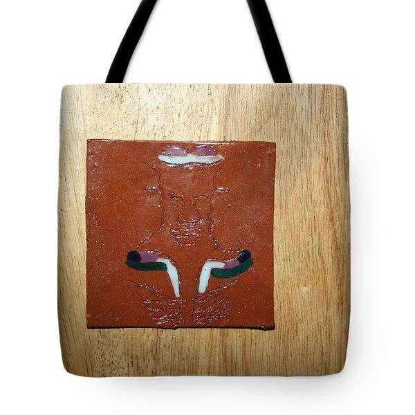 Brotherhood - Tile Tote Bag by Gloria Ssali