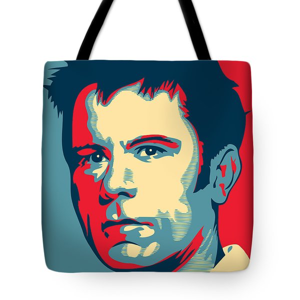 Bruce Dickinson Tote Bag by Unknow