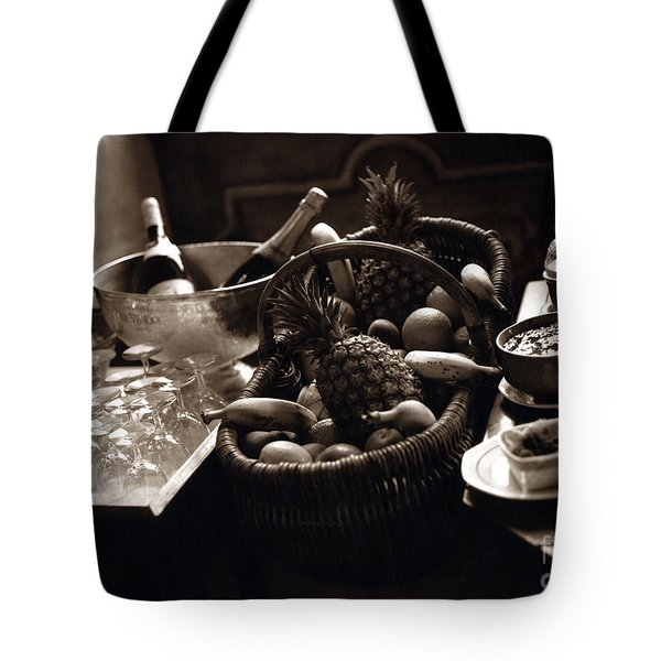 Brunch In The Loire Valley Tote Bag by Madeline Ellis