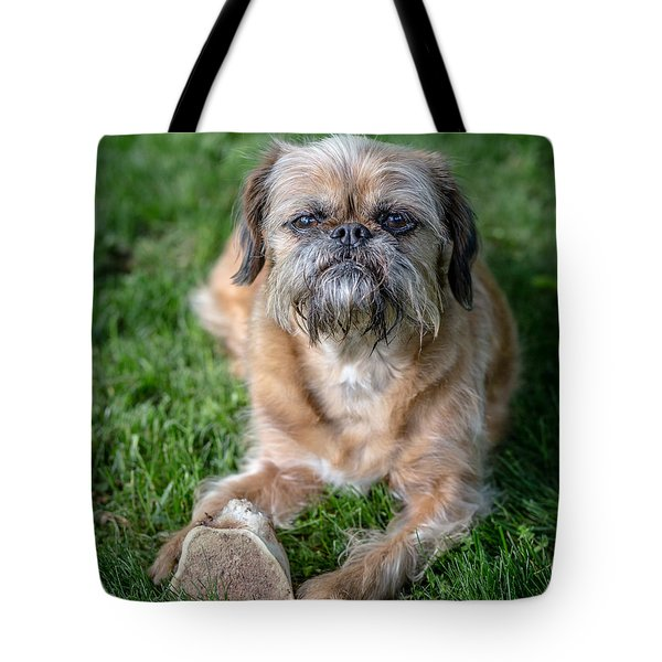 Brussels Griffon Tote Bag by Edward Fielding