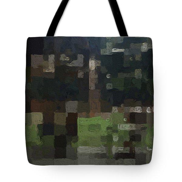 Bryant Park Tote Bag by Linda Woods