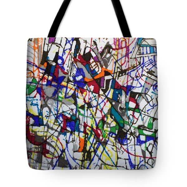 bSeter Elyion 31 Tote Bag by David Baruch Wolk