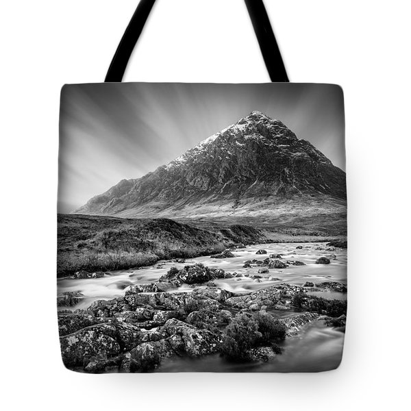 Buachaille Etive Mor 3 Tote Bag by Dave Bowman