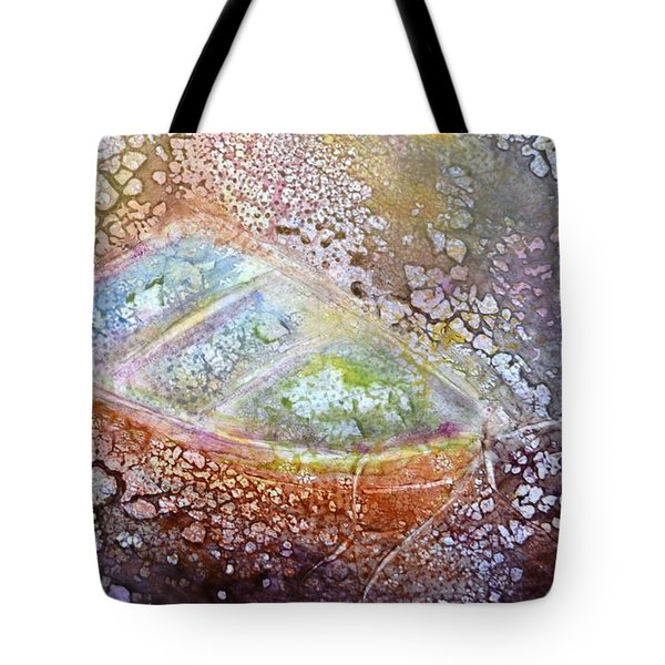 Bubble Boat Tote Bag by Kathleen Pio