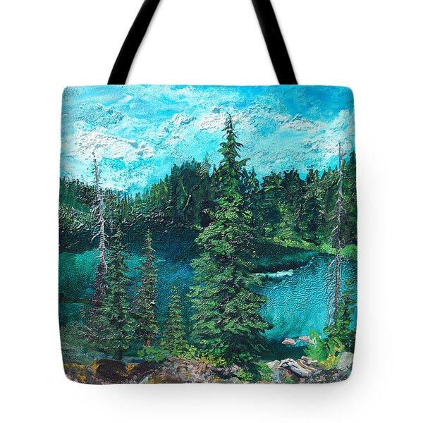 Buck Lake Tote Bag by Joseph Demaree