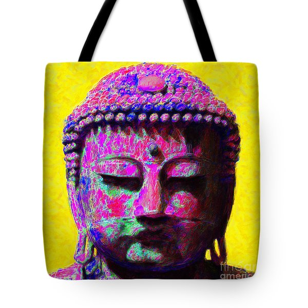 Buddha 20130130m168 Tote Bag by Wingsdomain Art and Photography