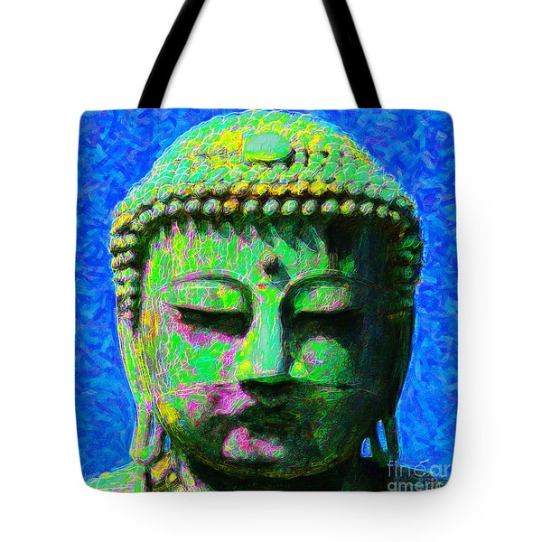 Buddha 20130130p0 Tote Bag by Wingsdomain Art and Photography