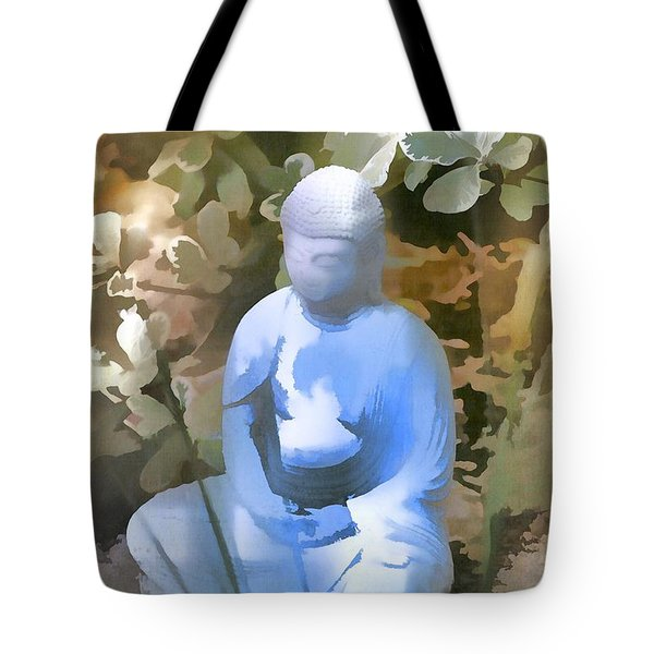 Buddha 3 Tote Bag by Pamela Cooper