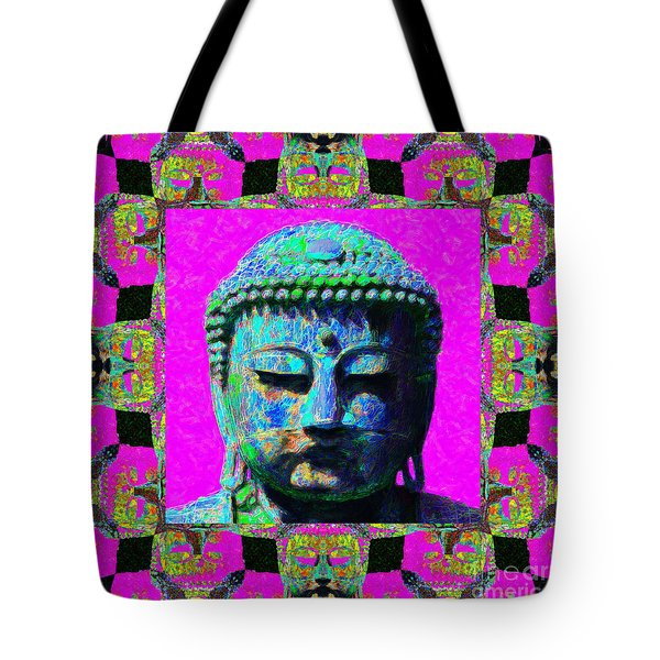 Buddha Abstract Window 20130130p0 Tote Bag by Wingsdomain Art and Photography